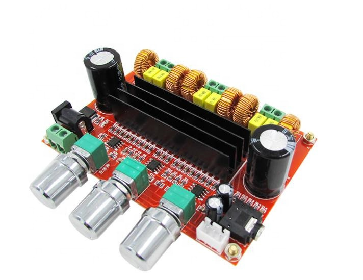 XH-M139 2.1 Channel High Power Digital Power Amplifier BOARD TPA3116D2 Power 2*80W + 100W