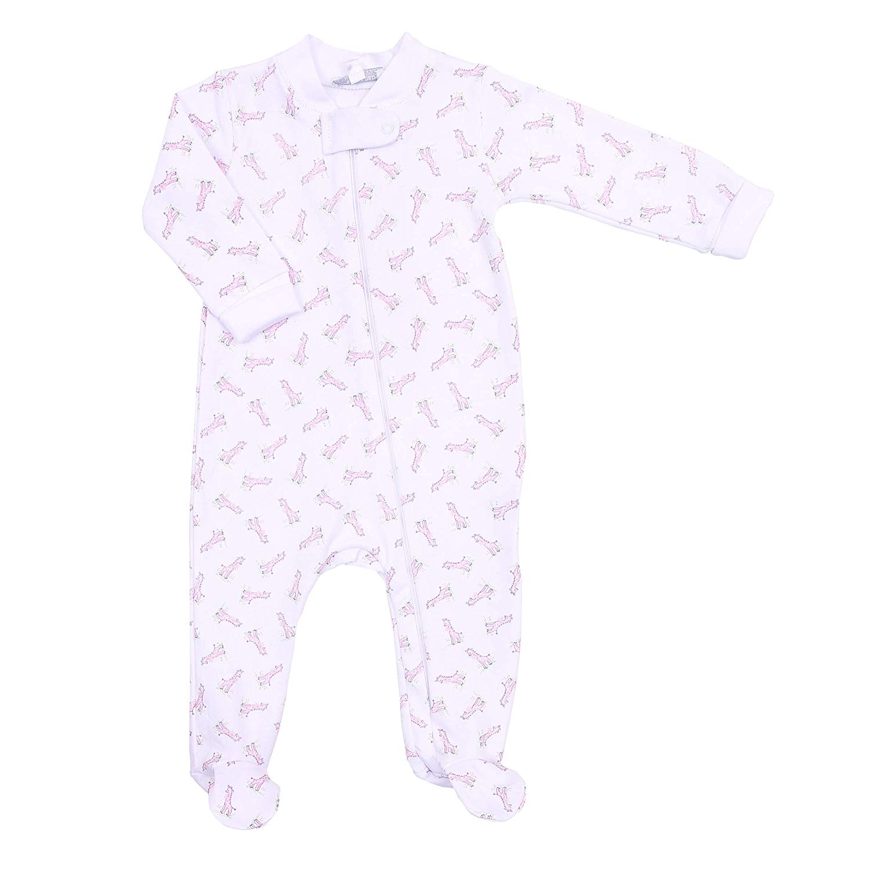 Magnolia Baby Baby Girl Vintage Magnolia Printed Toddler Dress Pink