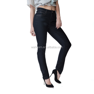 Hot sale embroidered skinny women denim jeans pants