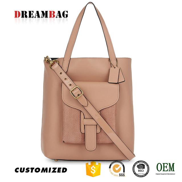 Top Grade Oem Snakeskin Trim Handbags Guangzhou