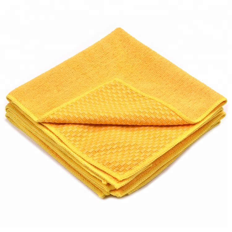 Hot selling professional Knitting super soft car drying towel microfiber towels for cars detailing