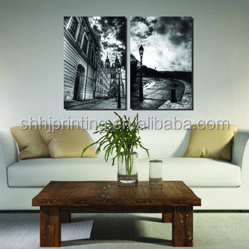 Home goods decor abstract scenery canvas wall art decor for Home goods decor