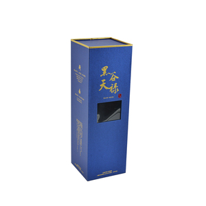 Customized Wine Packaging Magnetic Packing Custom Cardboard Paper Gift Box