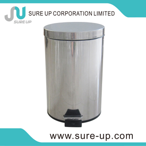 fancy thermos colored cigarette bin with stainless steel grid ashtray (DSUA)