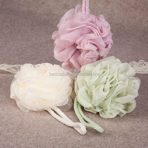 BEAUTIFUL NYLON JUMBO BATH BALL MESH NET PROF BATH SPONGE