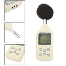 GM1358 Digital Sound Level Meter Noise Meter DB Meter Tester Measuring Range 30-130dB With LCD Backlit