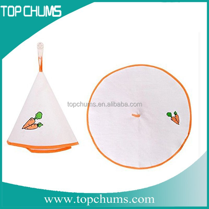 Alibaba China round hanging kitchen towels with ties