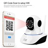 CMOS H.264 wifi security P2P wireless mobile view 3g sim card ip camera