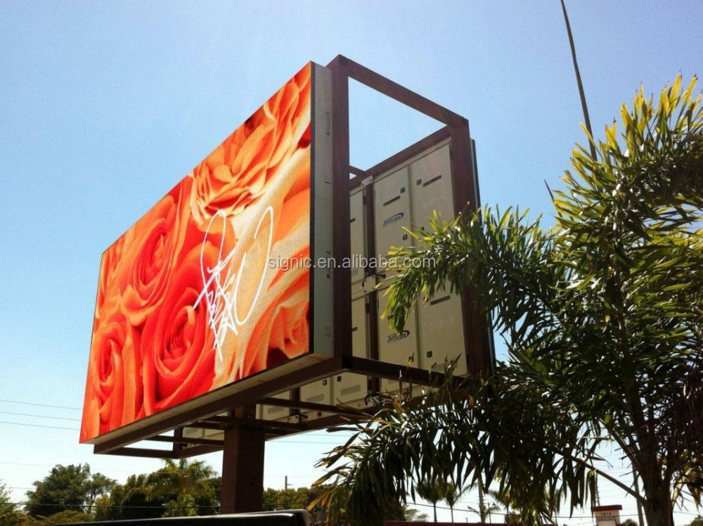 P10 Outdoor/Indoor Full Color High Brightness LED Display Screen for Advertising Panel (P3, P4 ...