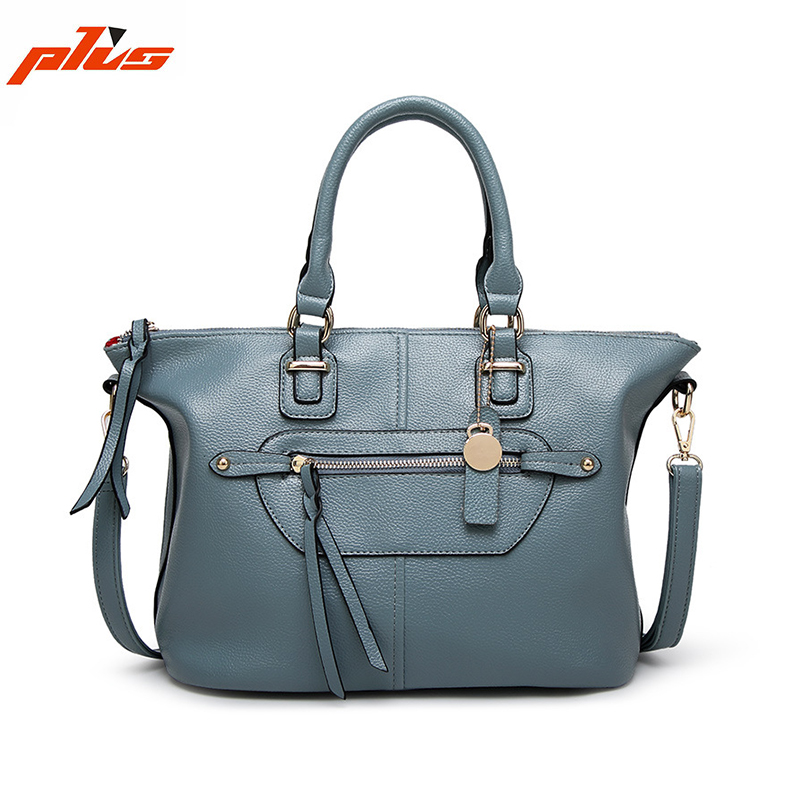 2016 Famous Ladies Real Leather Branded Handbag Wholesale Bags handbag women, Lady Fashion Handbag