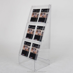 Outdoor Floorstanding Brochure Dispenser