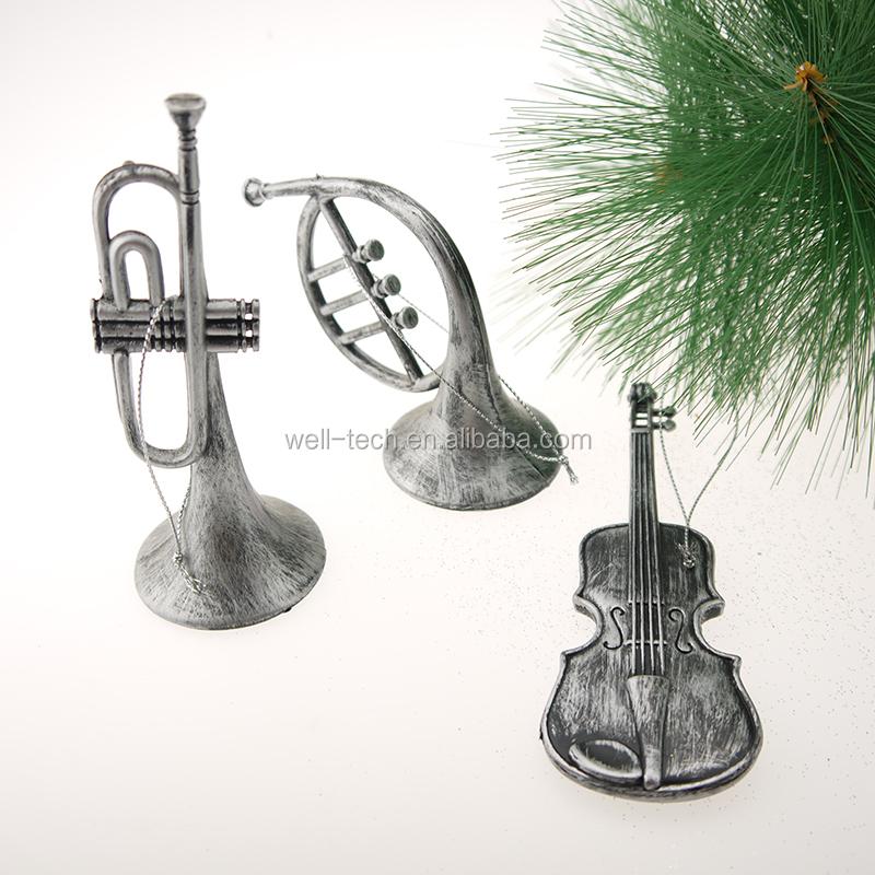 Kerst muziekinstrument opknoping decoraties kerst decoratie benodigdheden product id 60552383241 - Type decoratie ...