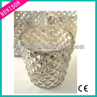 High quality cheapest tealight candle pier one mercury glass candle holder votives wholesale