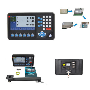 Lathe /Grinding Machine SINO Analysis Instrument 3 axis Digital Readout Kit for All Manual Machine