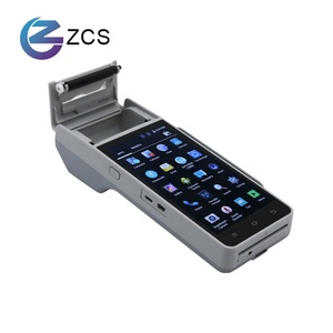 Hot-Selling Restaurant , Retail Handheld 4G android POS All in one POS System ,Logistics tracking POS terminal with GPS, Printer
