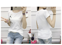 wholesale china embroidery latest t shirt designs for women