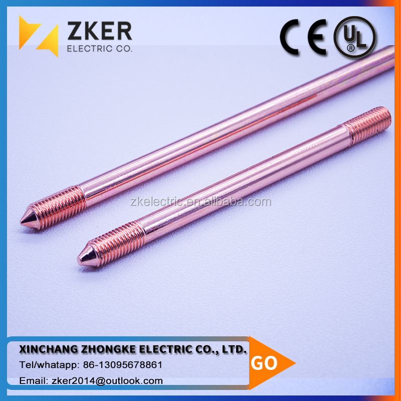UL Approved Copper Clad Steel Ground Rod Competitive Price, Rod Grounding