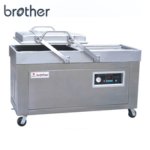 Brother DZ600/2SB Double Chamber Automatic Vegetable Nitrogen Gas-Flushing Vacuum Sealer Packaging machine