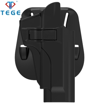 Tege tactical holster guns and weapons army 60 degree index finger release gun safe for Beretta 92fs, M9, Chiappa M9 holster