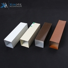 Ral 9016 Powder Coating 10mm 25mm Extruded Aluminium Alloy 6061 Square Tube Profiles Standard Size Philippines Price