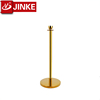 Free Access Parking Road Barriers for Wedding Use, Off Road, Gold Bollard Stand Heavy Product