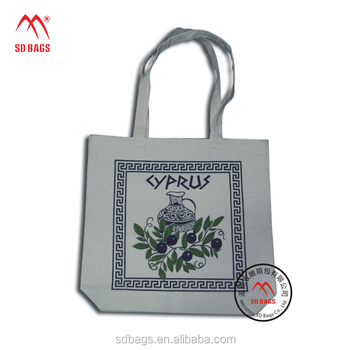Custom Logo Promotion reusable shopping handle cloth cotton pouch bag