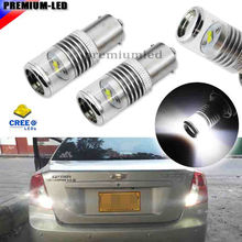 HID Matching Xenon White CRE'E 1156 7506 S25 BA15s P21W 21W LED Bulbs For Brake, DRL, Backup Lights Lamps