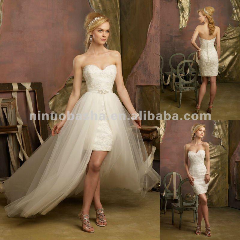 02ec2427b NY-2422 de cristal con cuentas de encaje vestido de cóctel de tul  desmontable tela