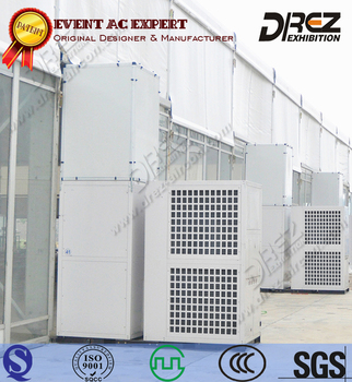 Drez Outdoor Event Air Conditioner for Tent - Commercial Air-Cooled HVAC Air Conditioner for Large Events