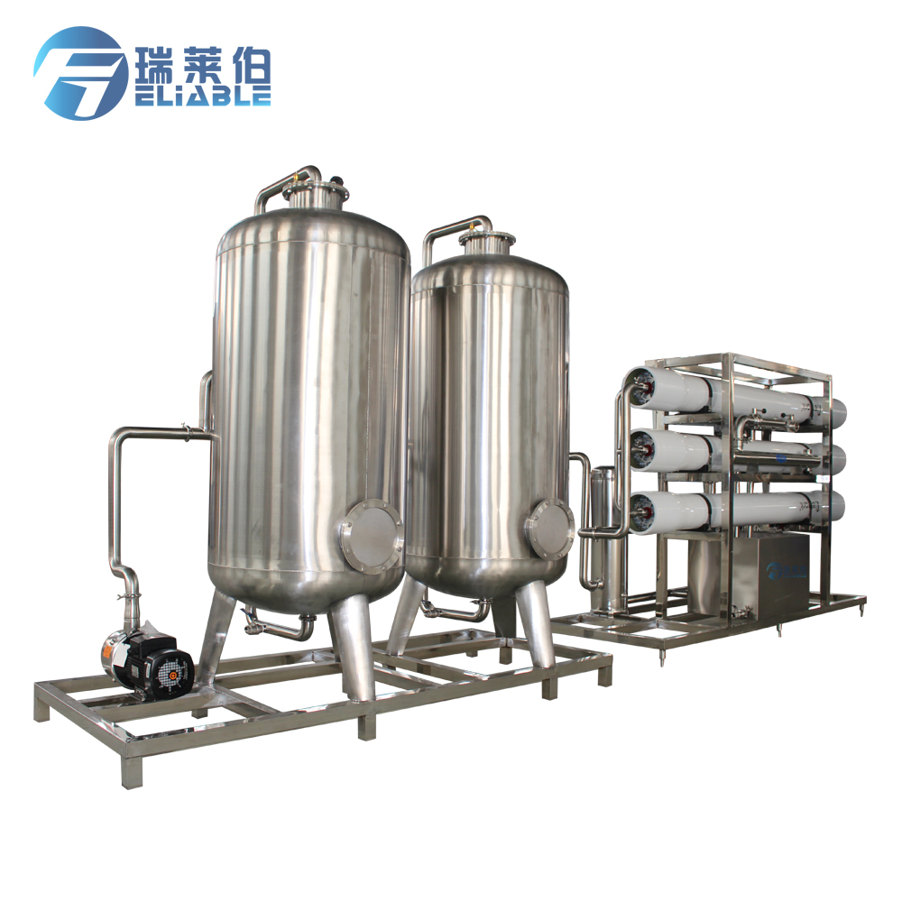Advanced Customizable Drinking River Water Treatment Unit With Water Softner