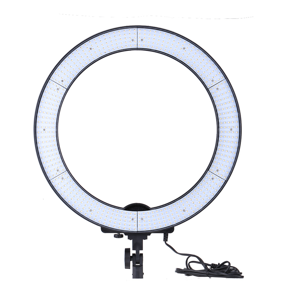 EMS Бесплатно Andoer LA-650D Фото Студия Кольцо Света LED Video Свет Лампы Цифровой Фотографическая Освещение 40 Вт 5500 К с 600LED Огни