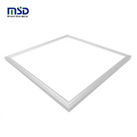 High lumen URG<19 36w 40w 48w 45w 60x60 square slim led panel