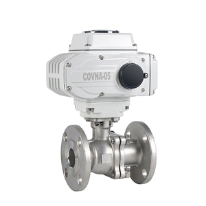 12V 24V Flange Electric Motorized Actuator Water Flow Control Ball Valve