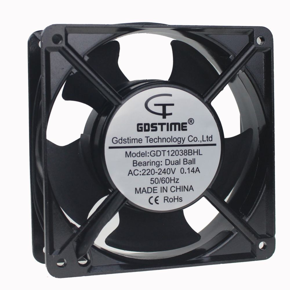 GDT 120MM 5 inch 12cm 120x120x38mm Industrial Exhaust Fan