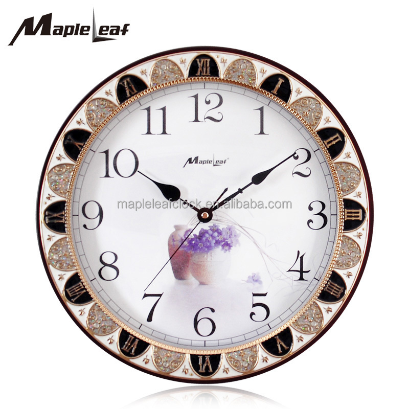 Round Wooden Wall Clock, Round Wooden Wall Clock Suppliers And  Manufacturers At Alibaba.com