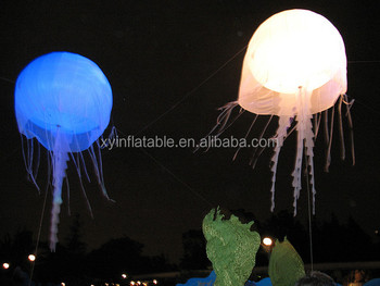decoration floating lighting balloon jellyfish balloon flying & Decoration Floating Lighting Balloon Jellyfish Balloon Flying - Buy ...