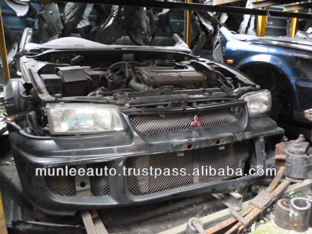 Jdm Used Engine Manual Transmission,& Ecu Front Clip For Car 4g63 Turbo  Lancer Evo Evolution 1,2,3 - Buy Jdm Used Engine Evo,Half Cut Front  Clip,Used
