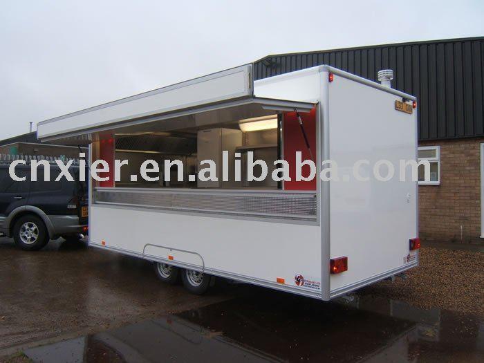 Restauration de cuisine mobile camion remorque remorque for Remorque cuisine mobile