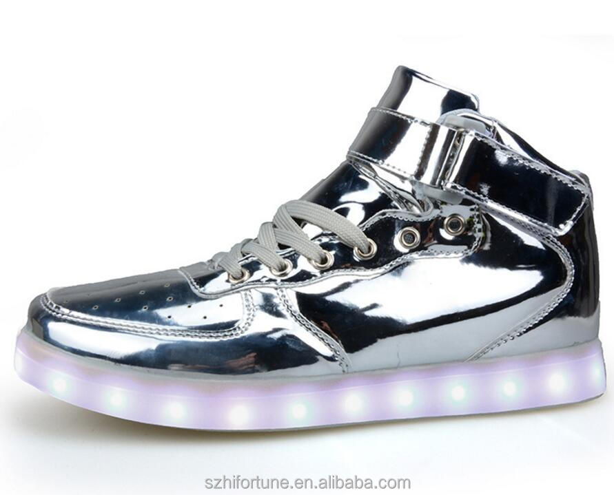 2019 hot sale led lights for shoes, simulation led shoes
