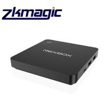2017 Hot Product Amlogic Google Free Download Android 6.0 TV Receiver Nexbox Quad Core 1080P full HD Set Top Box