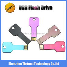 2016 New Arrival metal push and pull usb pendrive 2gb /sliding metal USB/logo memory stick
