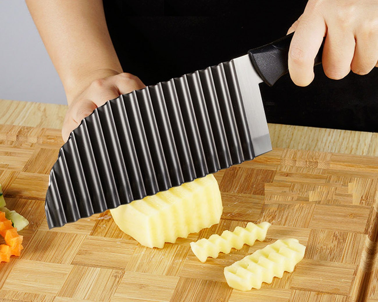 cheap crinkle french fry cutter find crinkle french fry cutter