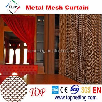 Cascade Coil Drapery Architectural Metal Mesh Fabric Drapery ...