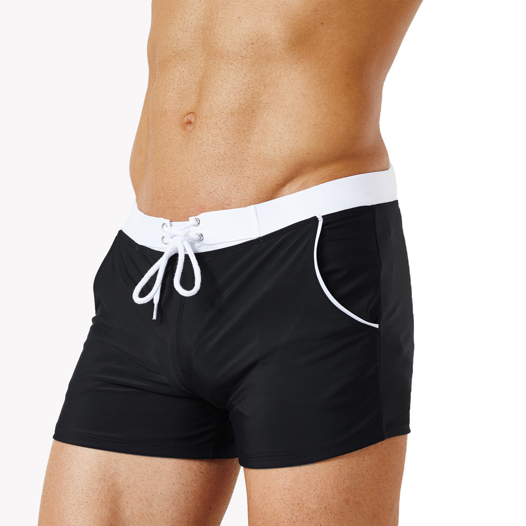f8fd73ee52 2019 Swimming Trunks Men For Boys Sexy Swimsuit Fashion Swimming Trunks  Briefs Beach Shorts Mens Underpant Zwembroek Heren Korte #6 From  Zhaolinshe, ...
