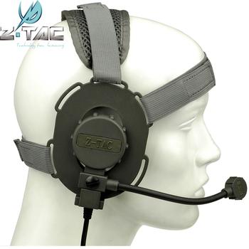 Z-tac Bowman Evo III tactical military removable microphone soft headband  headset 03ff3cf79d2