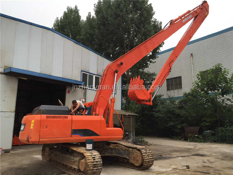 Excavator long reach boom 16m 18m long boom arm for PC200 PC270 PC300