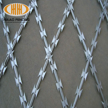 Hot Sale And Security Bto-22 Concertina Razor Barbed Wire Price And ...
