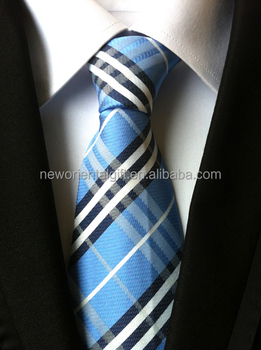 Promotion Stripe Color Polyester Necktie jacquard tie
