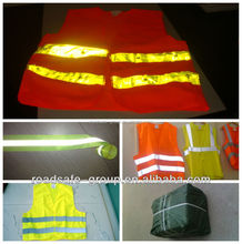 road safety equipment warning high visibility colored reflective