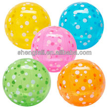 large clear plastic ball/plastic ball pit balls/plastic play pit balls